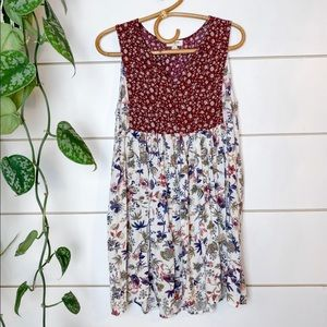 Umgee Floral Tunic